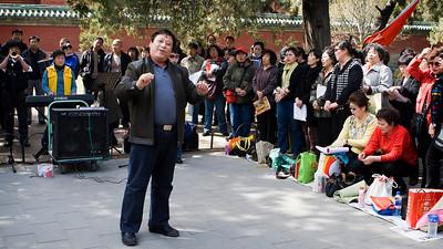 Chorusline, Tiantan Park, Beijing