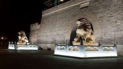 Lions, Yongdingmen, Beijing