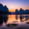 Li river, end of the day