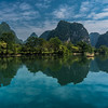 Drifting down the Yulong river