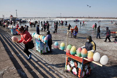 Candy Floss, Songhua River, Harbin, Heiliongjiang Province, China