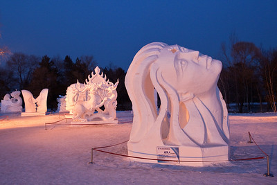 Scultpture 3, Snow Festival, Harbin, Heiliongjiang Province, China