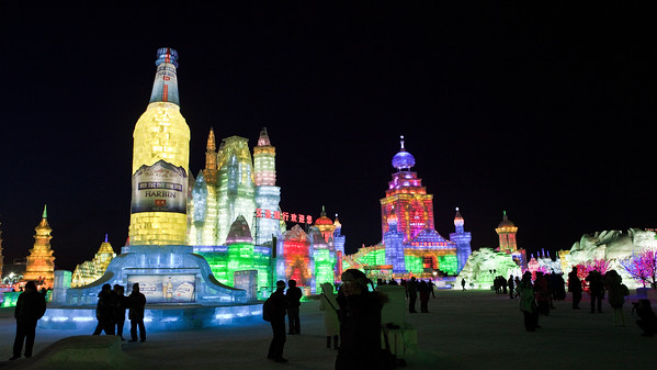 Ice and Snow Festival, Harbin, Heiliongjiang Province, China