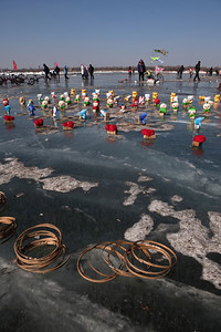Fairground Games, Songhua River, Harbin, Heiliongjiang Province, China