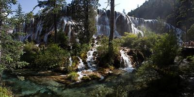 Shuzheng Falls, Shuzheng Valley, Jiuzhaigou National Park, Sichuan