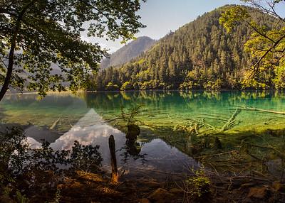 Mirror Lake, Jiuzhaigou, Sichuan