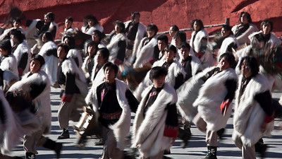 Dancers, Impressions, Lijiang