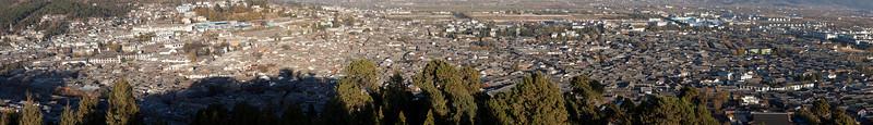 Old Town Lijiang Panorama