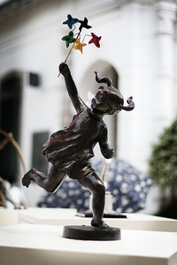 Little Girl, Olympic Sculpture, Leal Senado, Macau