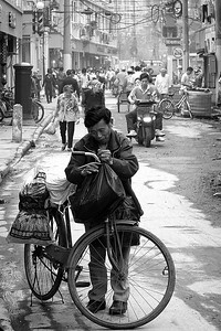 The Bicycle Man, Shanghai