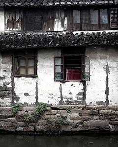 Village House Windows, Zhouzhang