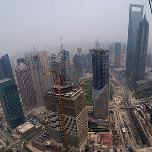 Pudong from Oriental TV Tower
