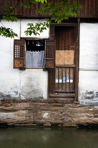 Village House Door, Zhouzhang