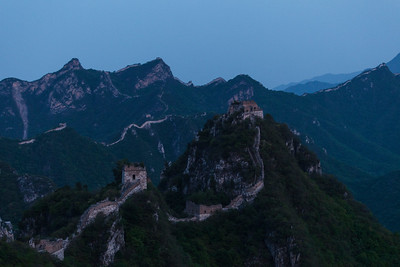 Blue Hour at Jiangkou, Huairo County