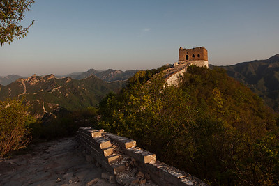 Zhengbei Tower, Jiangkou