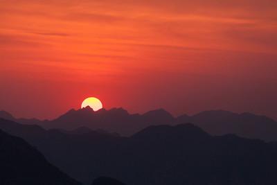 Sunrise, Jiangkou