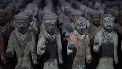 Han Dynasty Royal Guards, Xianyang, Shaanxi