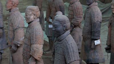 Awaiting Orders, Longtin County, Shaanxi