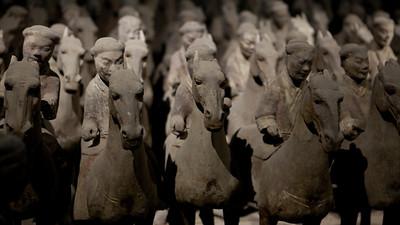 Guards and Horses, Xianyang, Shaanxi