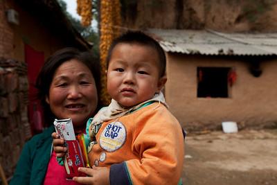 23. Child and Grandmother, Xiekou, Shaanxi