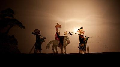 Journey to the West Shadow Play, Folk House, Beiyuanmen, Muslim Quarter, Xian