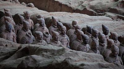 Warriors, Pit 1, Longtin County, Shaanxi