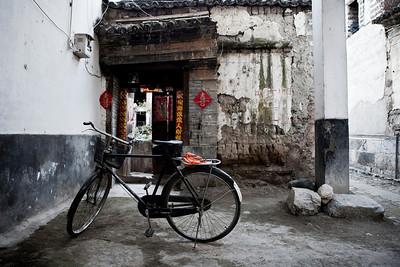 Bike and Doorway