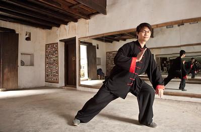 Ping, Tai Chi Teacher, Yulong Valley