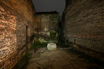 Stone Well at Night, Yulong Valley, Juxian