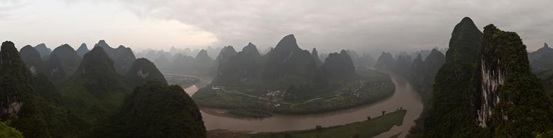 Li River Panorama, Xingping