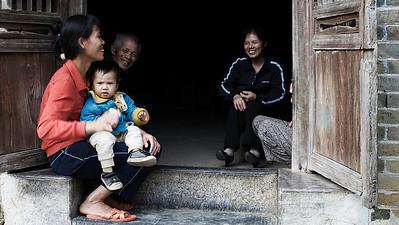 Doorstep Laughs, Yulong Valley, Guangxi