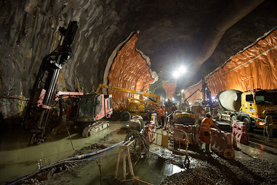 Ngau Tam Mei Cavern , High Speed Rail, Hong Kong