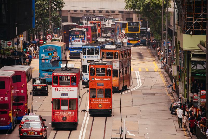 Tram Jam, Central