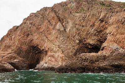 Basalt Columns, High Island, Hong Kong Geopark