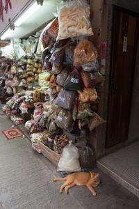 Dried Goods - Lazy Cat, Queens Road, Sheung Wan, Hong Kong