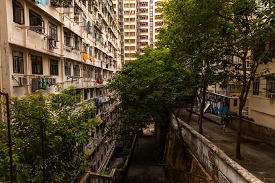 Terraced, Tai Ping Shan, Hong Kong