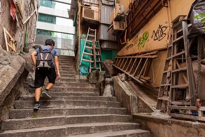 The Other Ladder Street, Sheung Wan, Hong Kong