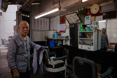 The Shanghainese Barber