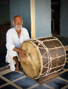 Drummer in the Rat Temple