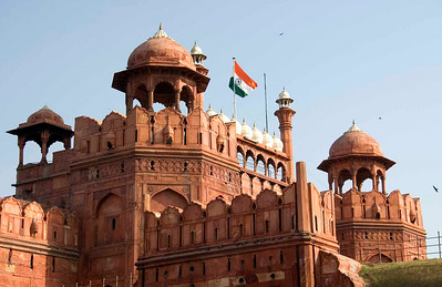 Red Fort, Old Delhi.