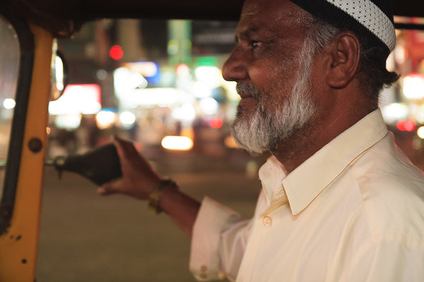08IB460 Andhra Pradesh Autorickshaw Driver Hyderabad India