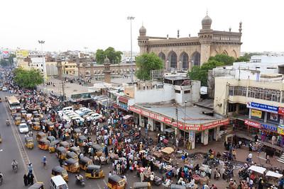 08IB417 Andhra Pradesh Auto-Rickshaw Hyderabad India