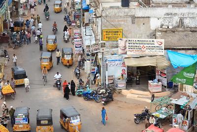 08IB421 Andhra Pradesh Auto-Rickshaw Hyderabad India