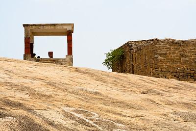 08IB525 Andhra Pradesh Bhongir Fort India Rock Ruin