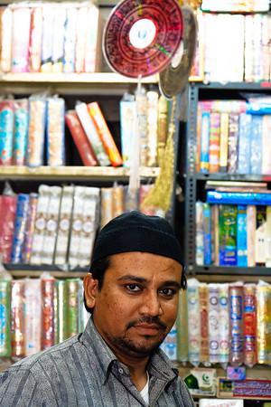 08IB443 Andhra Pradesh Hyderabad India Shopkeeper Men
