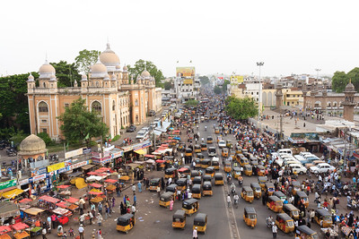 08IB419 Andhra Pradesh Auto-Rickshaw City Hyderabad India