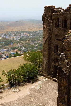 08IB522 Andhra Pradesh Bhongir Fort India Ruin