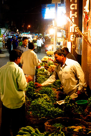 08IB459 Andhra Pradesh Vegetables Hyderabad India Market
