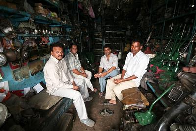 Click here to buy at Alamy. Keywords: Car Parts India Mechanics Motor Market Old Delhi MyID: 06IP096