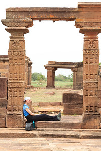 08IB265 Aihole Pattadakal Hindu India Karnataka Faith